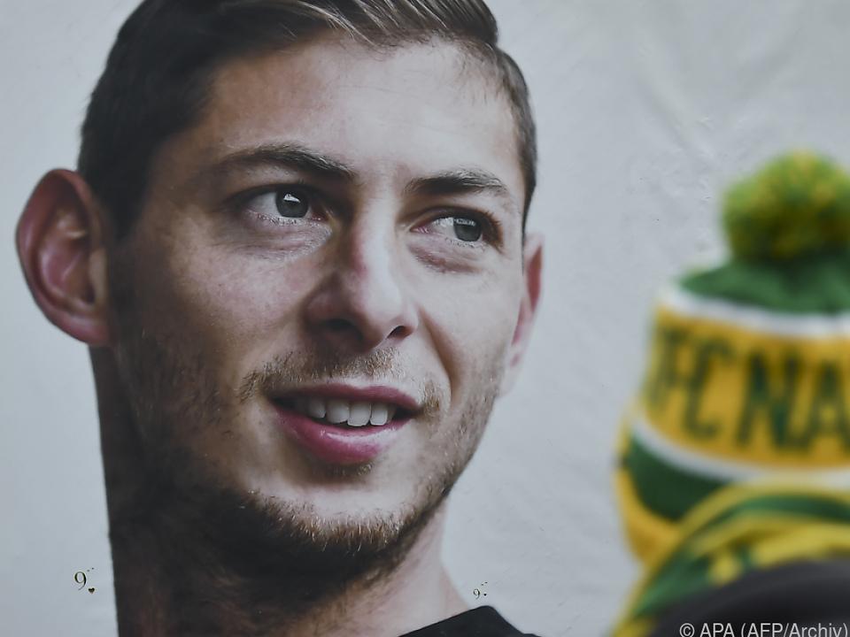 Der Fußballer Sala war voriges Jahr tödlich verunglückt