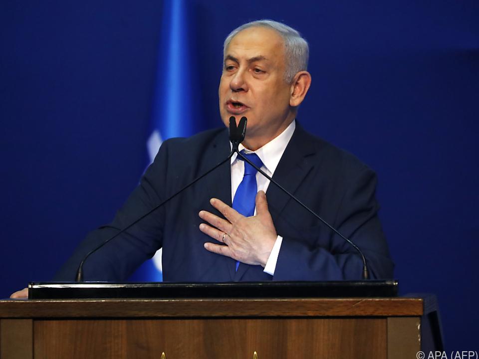 Der rechts-religiöse Block um Regierungschef Netanyahu lag vorn