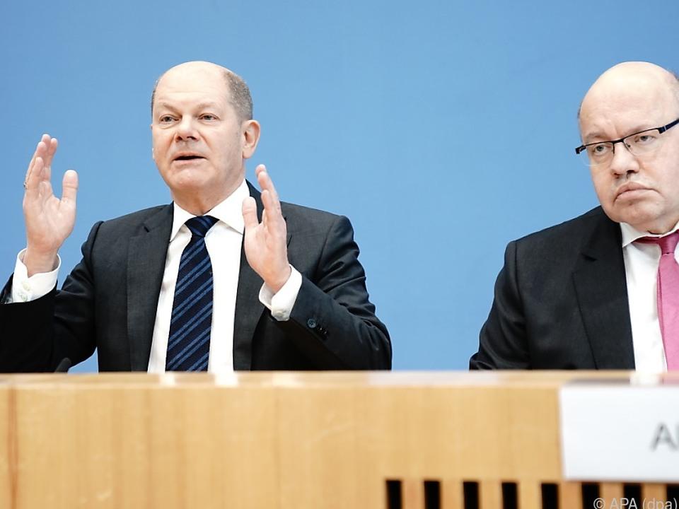 Deutsche Regierung sagt Geld zu