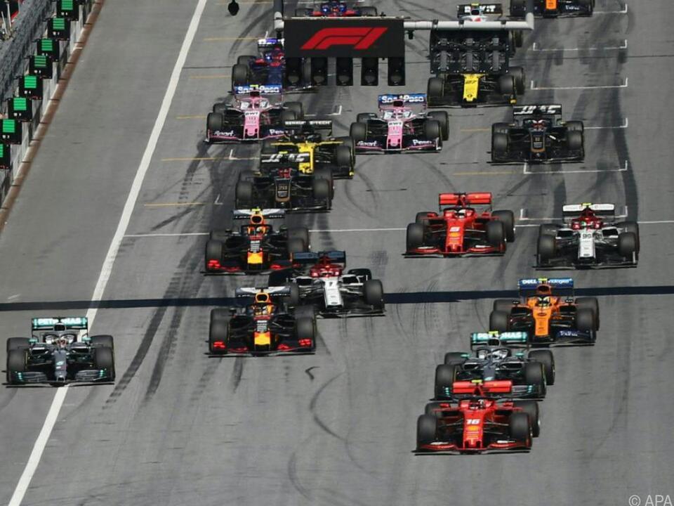 Die Formel-1-Teams arbeiten derzeit nicht an der Performance