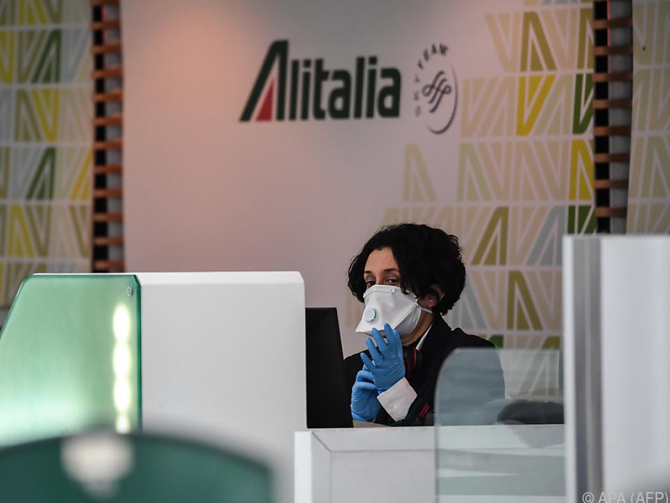 Die italienische Alitalia kämpft ums Überleben
