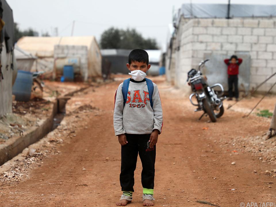 Die Lage in der Region Idlib ist prekär