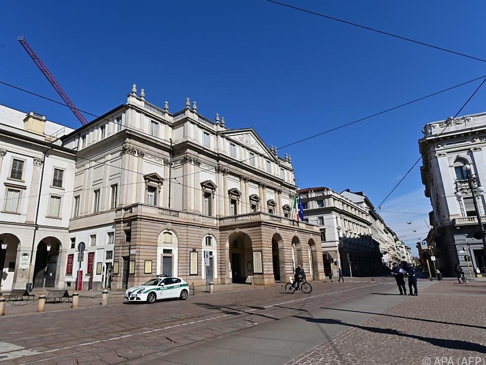 Die Mailänder Scala hat seit 23. Februar alle Aufführung abgesagt