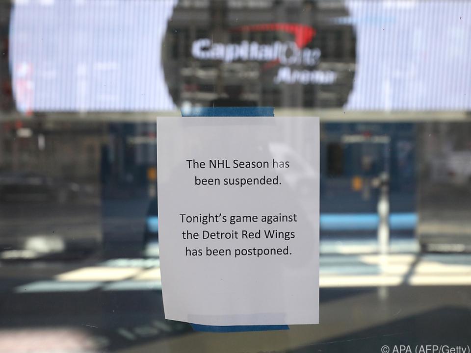 Die NHL-Saison ist derzeit unterbrochen