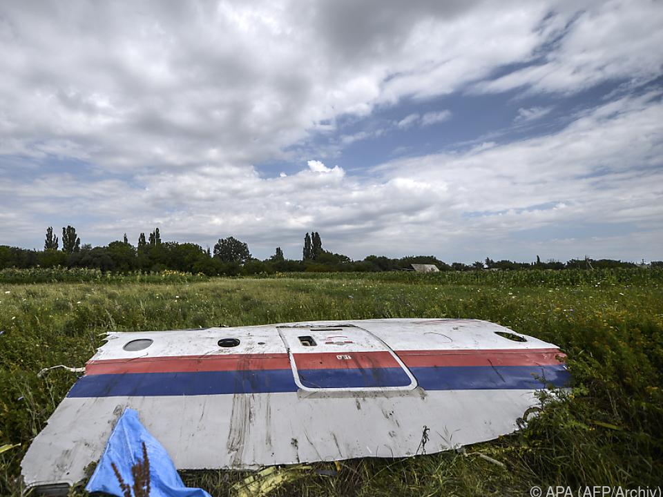 Die Passagiermaschine war 2014 über der Ukraine abgeschossen worden