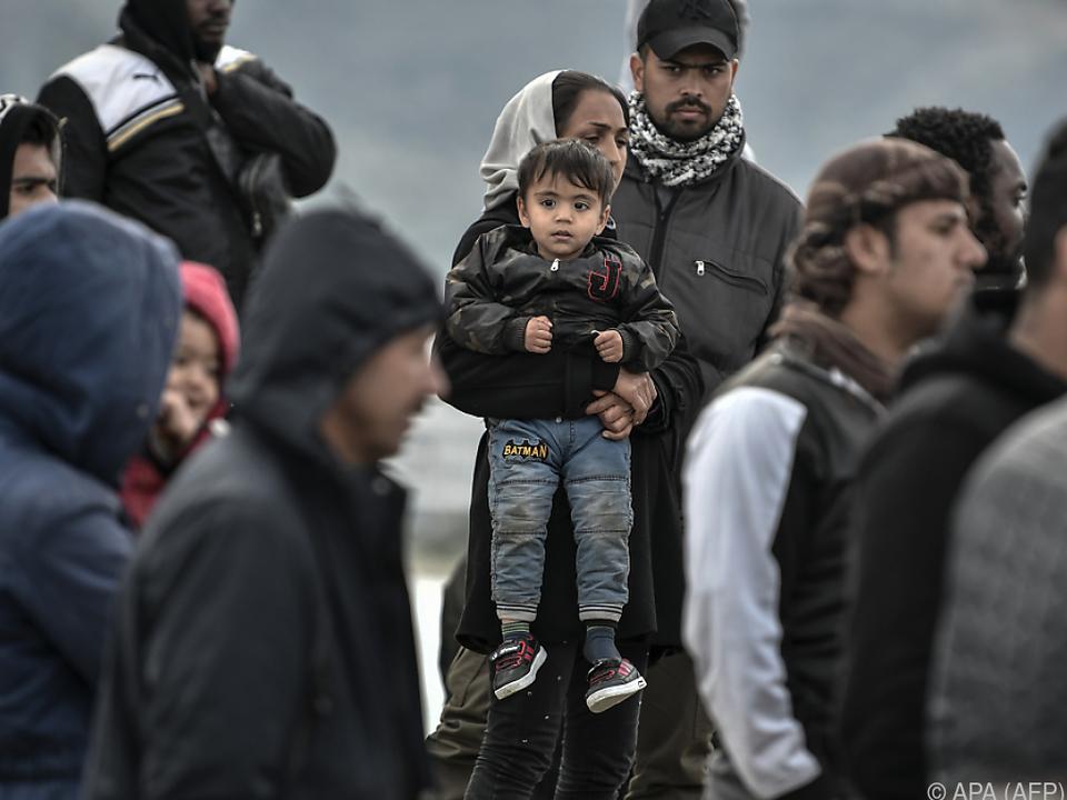 Die Situation an der türkisch-griechischen Grenze bleibt angespannt