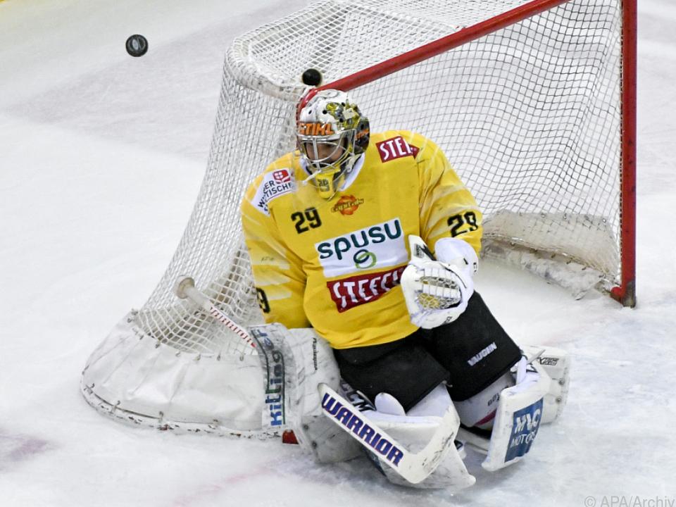 Die Vienna Capitals mussten sich den Graz99ers geschlagen geben