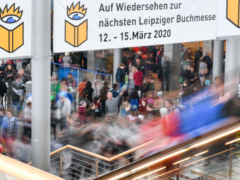 Leipziger Buchmesse, Leipziger Buchmesse, 1. März