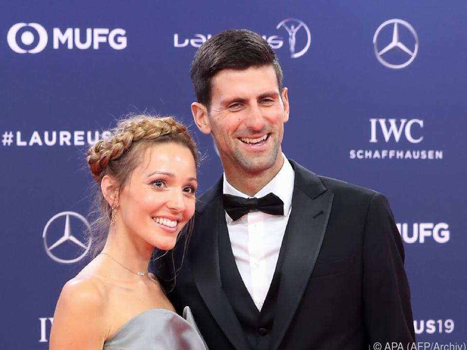 Ehepaar Djokovic spendet für Serbien