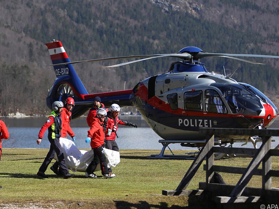 Eine Wandergruppe aus Tschechien wurde von der Lawine erfasst