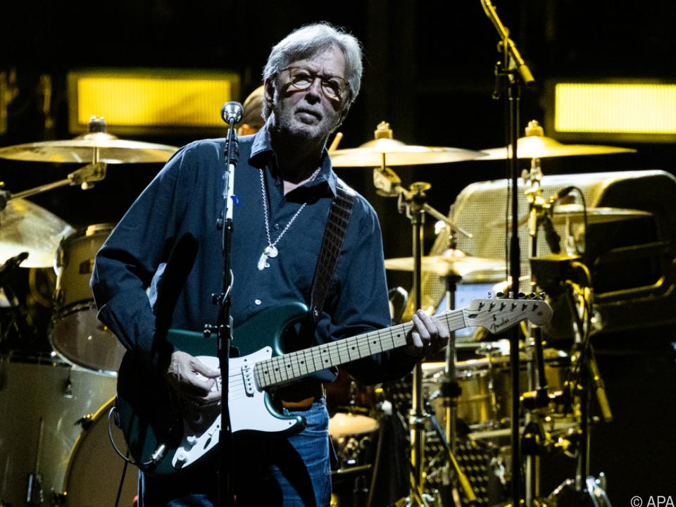 Eric Clapton lebt für die Musik