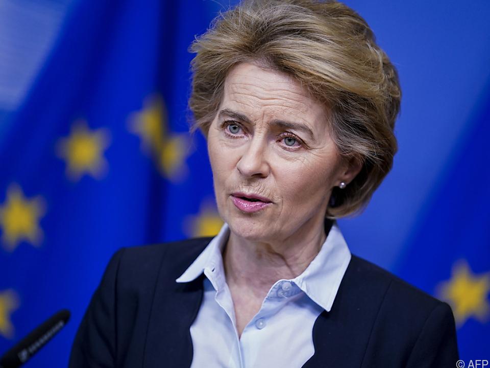 EU-Kommissionspräsidentin sagte wegen Coronavirus Reise ab