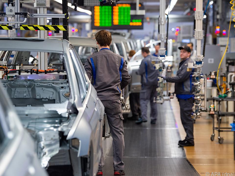Archivbild Autoindustrie - VW-Werk Wolfsburg