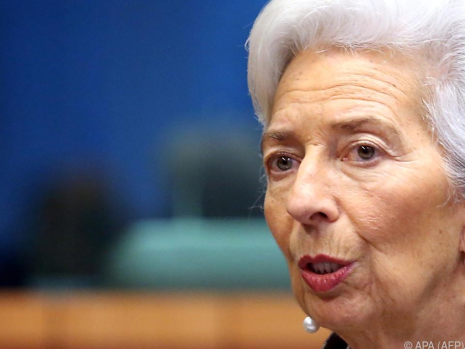 EZB-Präsidentin Lagarde betont Handlungsfähigkeit der Notenbank