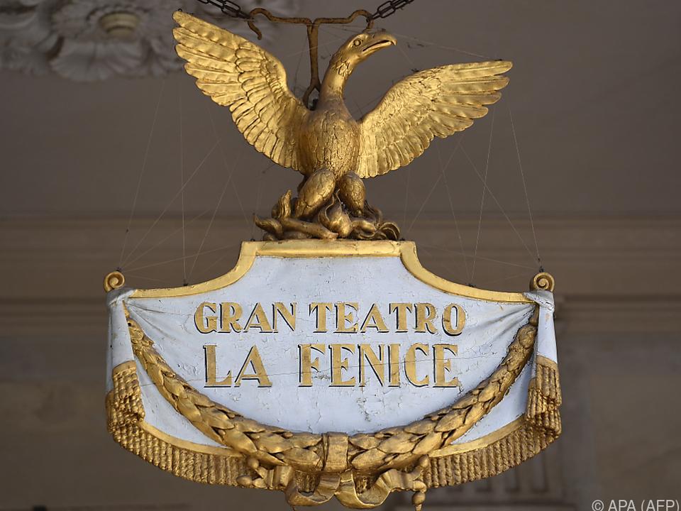 Fenice-Theater in Venedig reagiert auf die Coronavirus-Epidemie