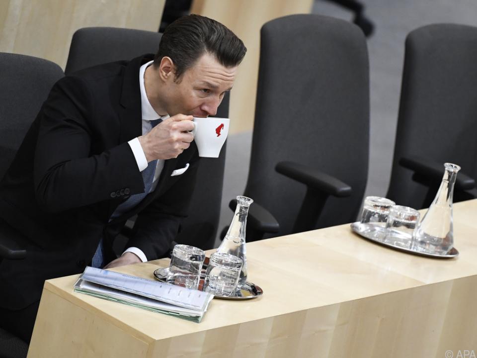 Finanzminister Blümel wird erst später die Budgetrede halten
