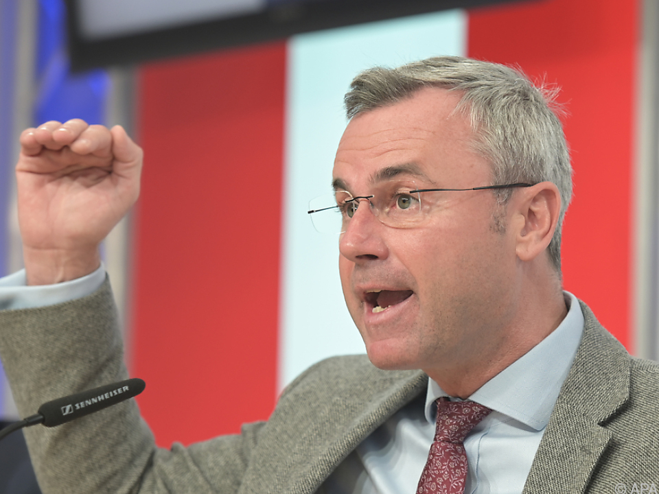 FPÖ-Parteichef Norbert Hofer