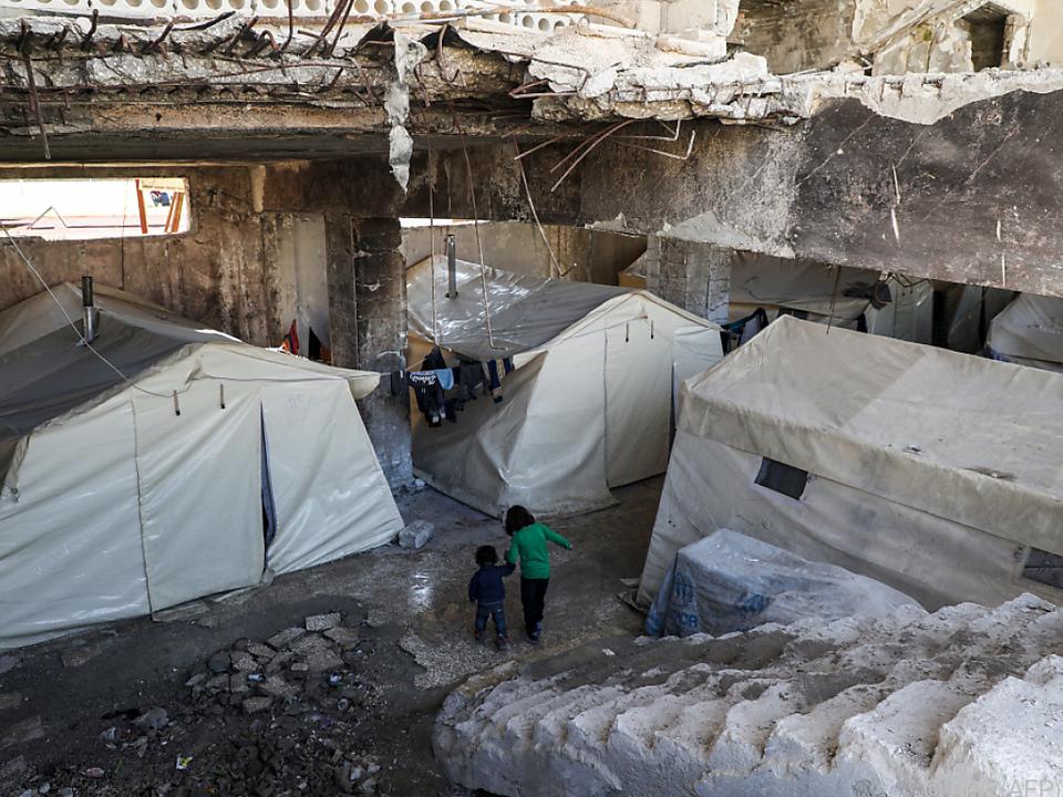 Für die Menschen in Idlib gibt es kaum noch Orte zum Leben