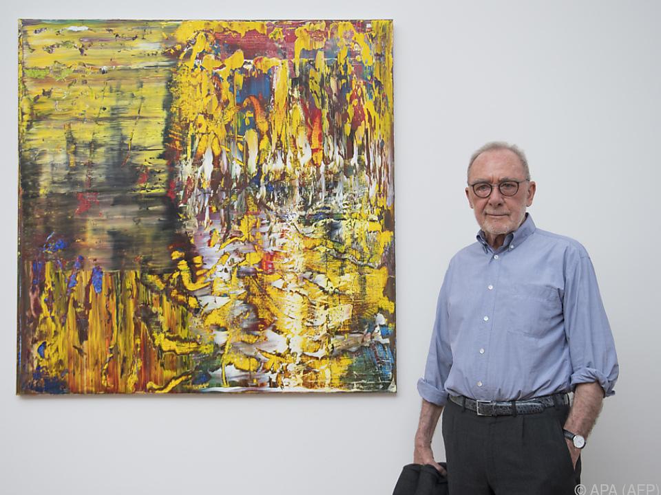 Gerhard Richter ist einer der großartigsten Künstler unserer Zeit