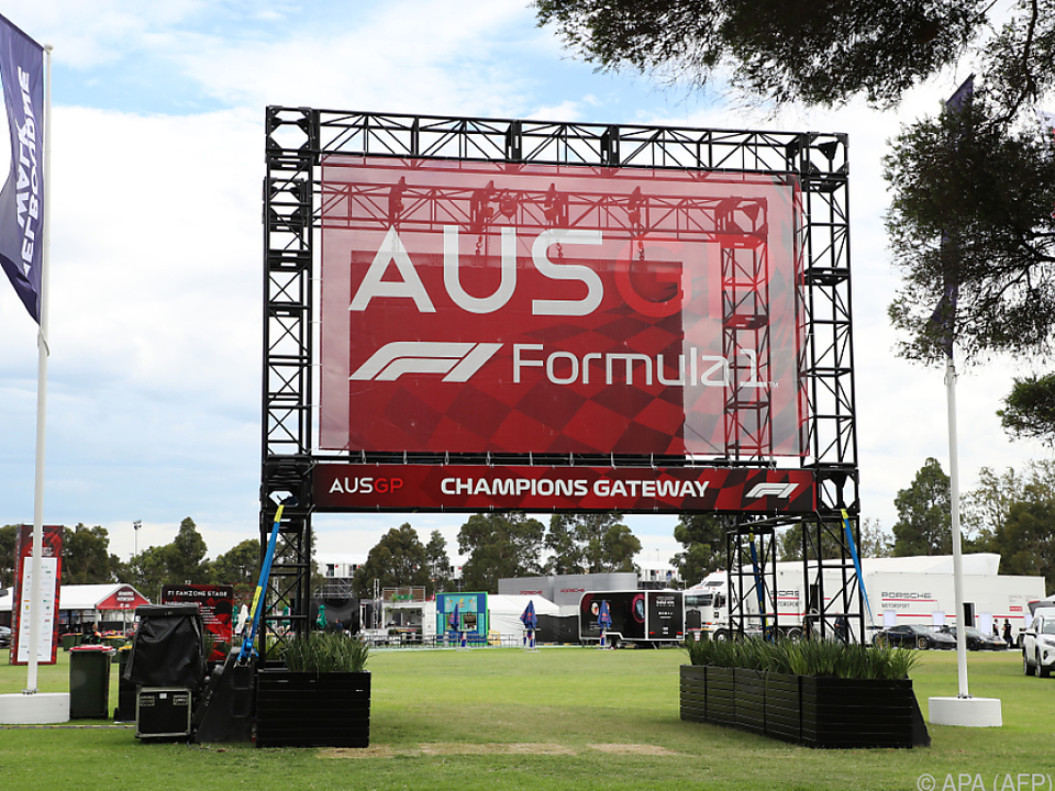 Grand Prix von Australien findet nun doch nicht statt