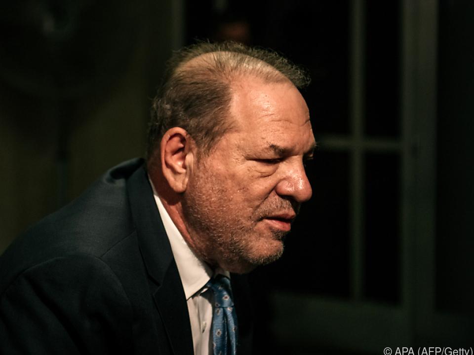 Harvey Weinstein ist in keiner guten Verfassung
