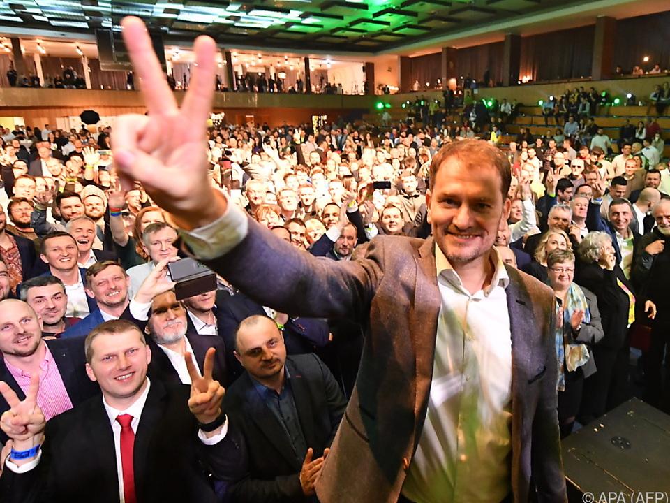 Igor Matovic will eine neue Regierung anführen