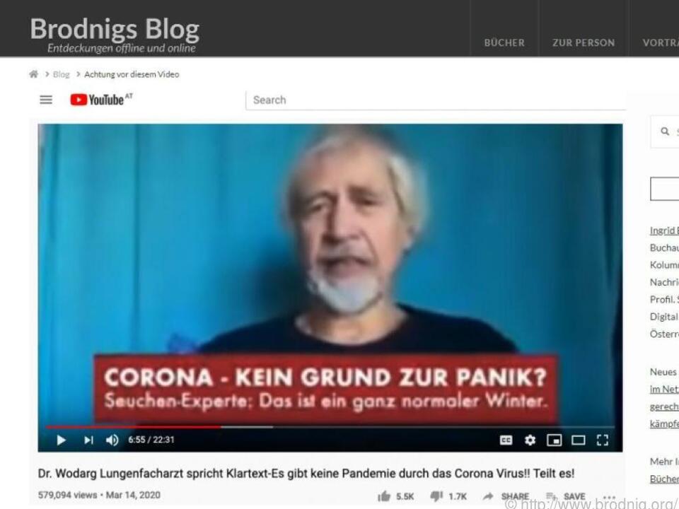 Ingrid Brodnig stellt die krassesten Falschmeldungen vor