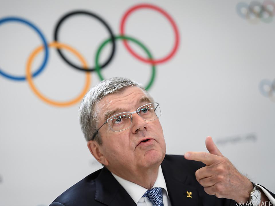 IOC-Präsident Thomas Bach spielt bei den Sommerspielen weiter auf Zeit