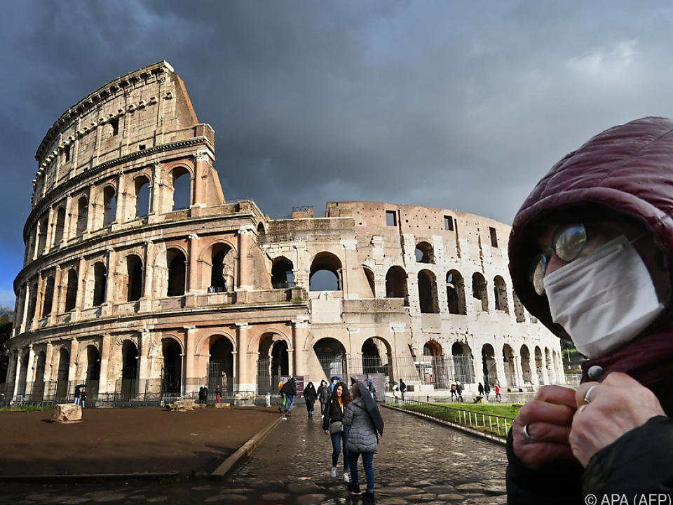 Italien leidet unter dem Coronavirus