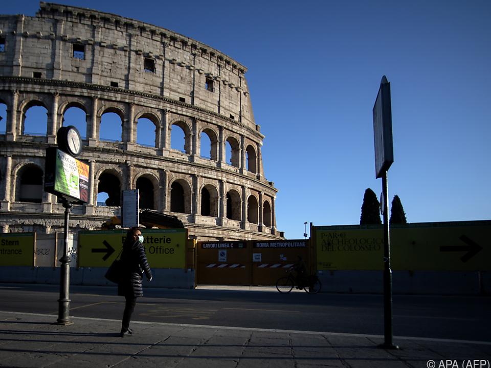 Italien wurde von der Corona-Krise am schwersten getroffen