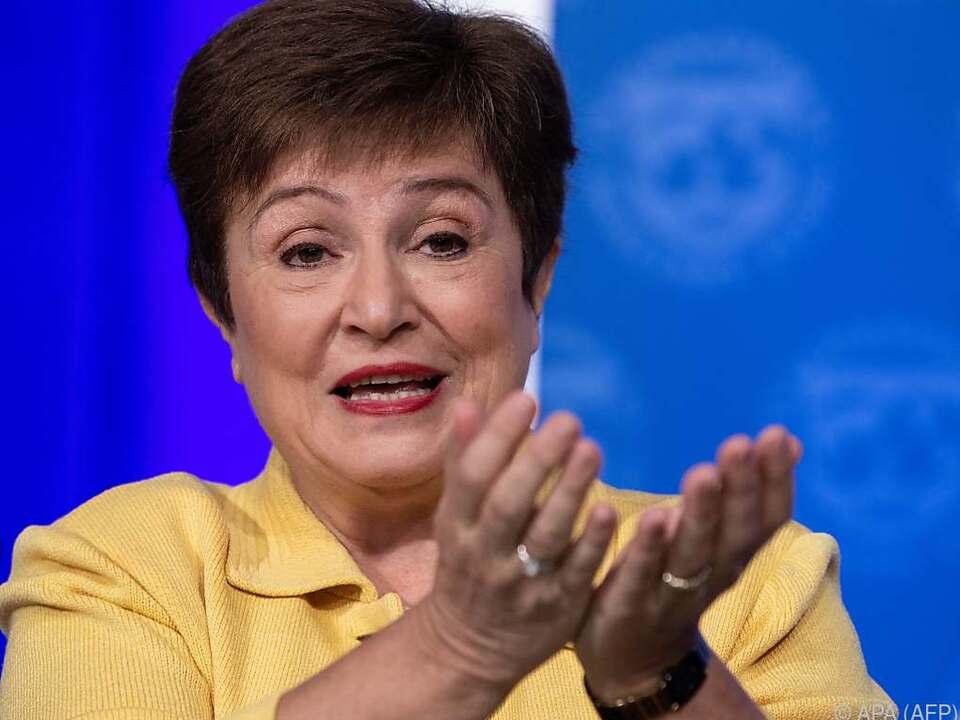 IWF-Chefin Georgieva stellt hohe Kreditkapazitäten zur Verfügung