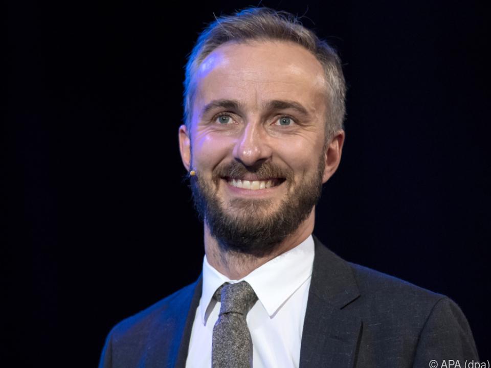 Jan Böhmermann setzt sich für Hilfen für die Kulturszene ein