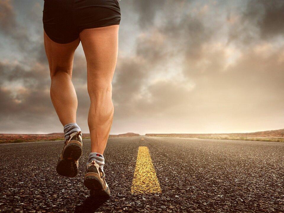 Laufen Joggen Marathon