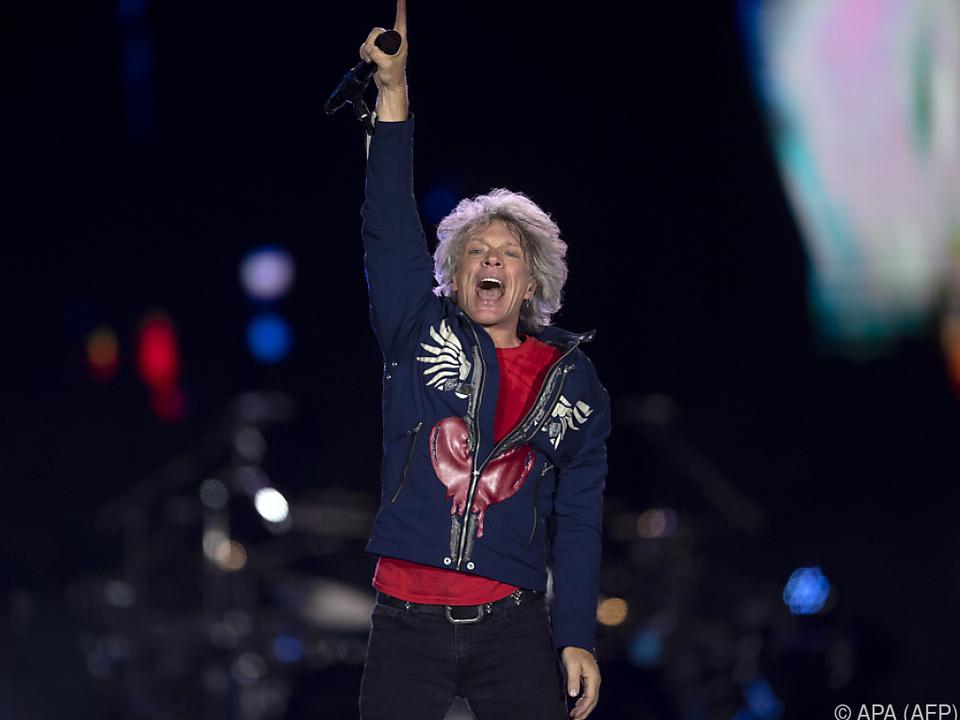 Jon Bon Jovi feiert am Montag seinen 58. Geburtstag
