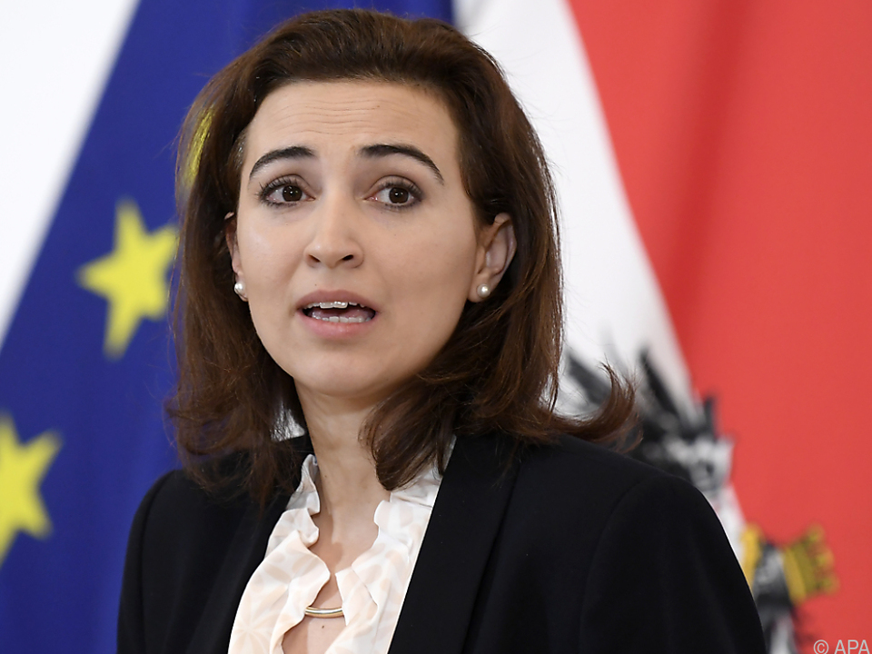Justizministerin Alma Zadic: \