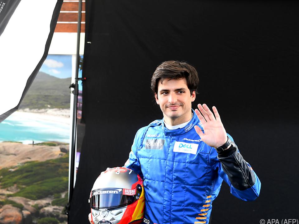 Kein Rennen für McLaren-Pilot Carlos Sainz Jr.