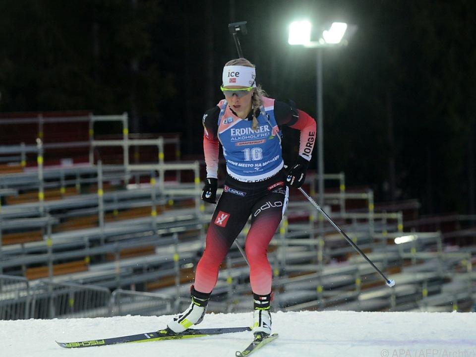 Klarer Sieg für die norwegischen Biathletinnen