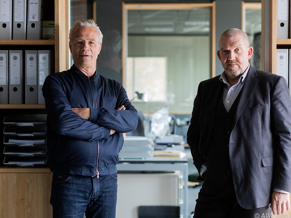 Klaus J. Behrendt (links) hat bereits 80 Folgen abgedreht