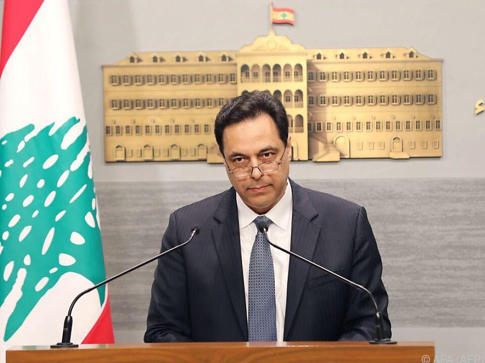 Libanons Premier verkündet Zahlungsausfall