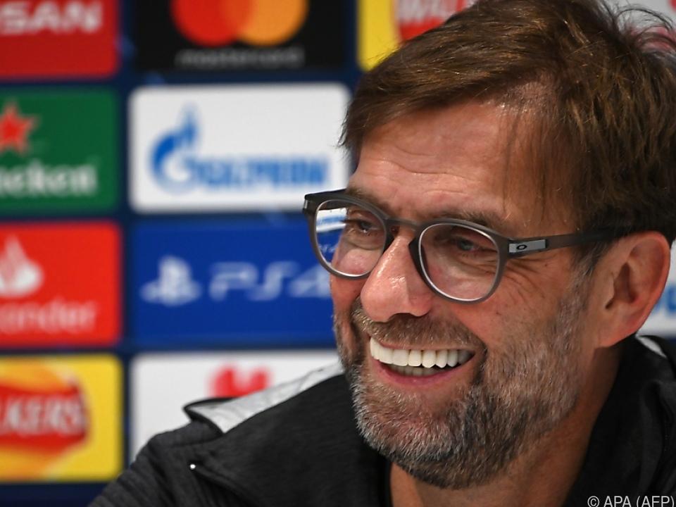 Liverpool-Coach Jürgen Klopp weiß: \