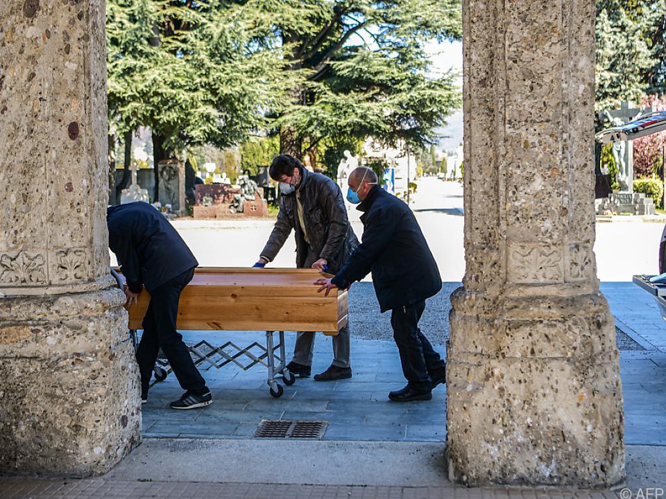 Lombardei ist Italiens am stärksten betroffene Region