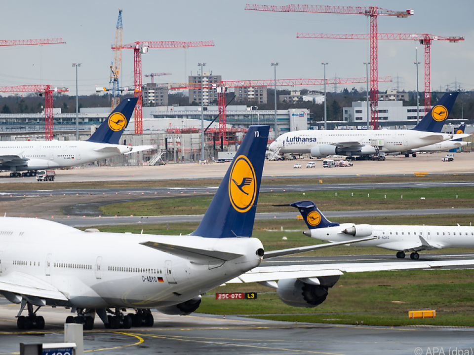 Lufthansa massiv getroffen
