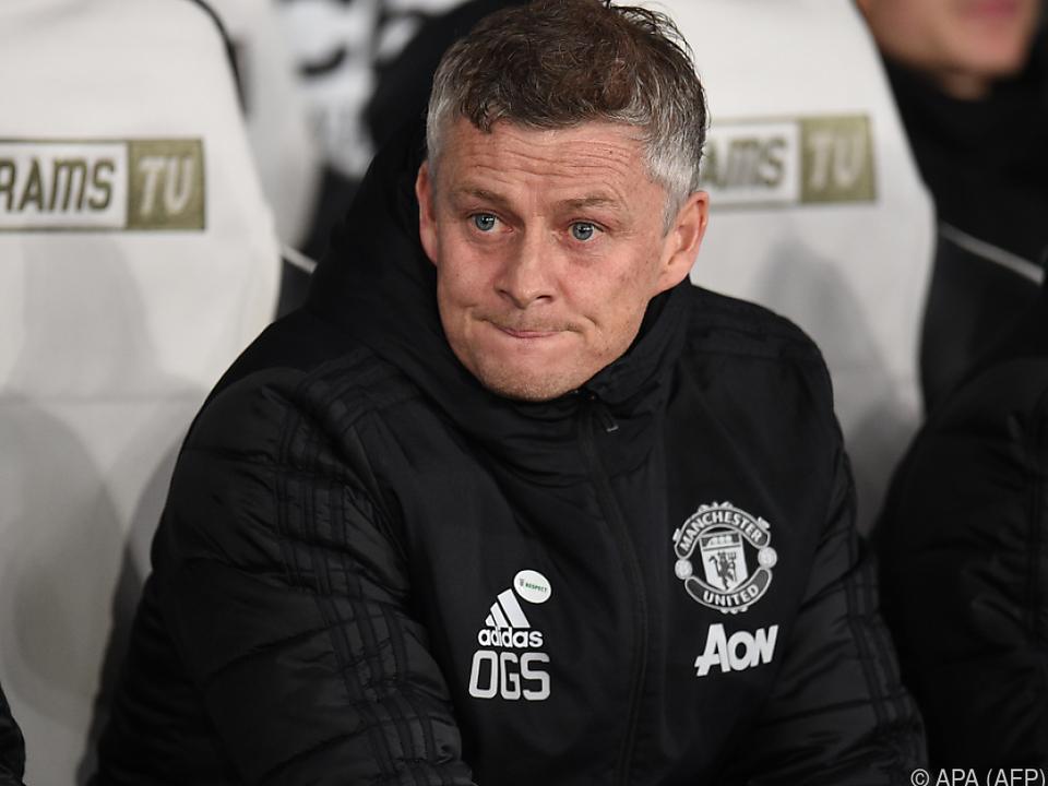 Manchester-United-Trainer Solskjaer: \