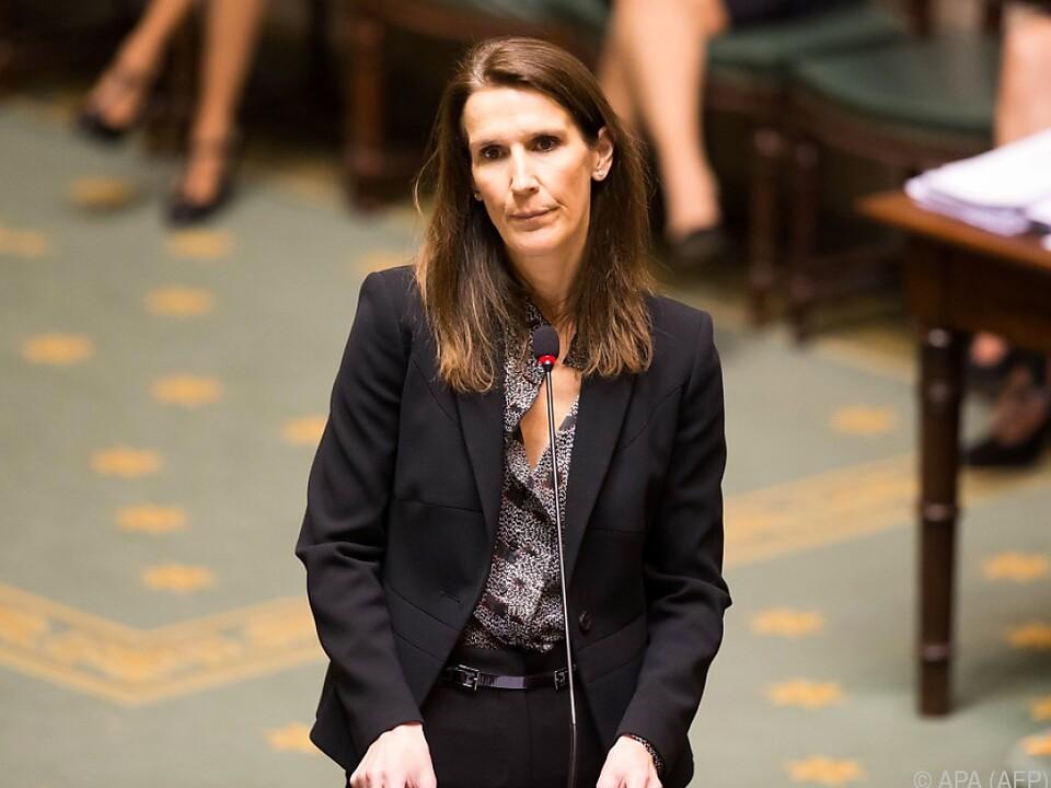 Ministerpräsidentin Sophie Wilmès hat derzeit keine Mehrheit