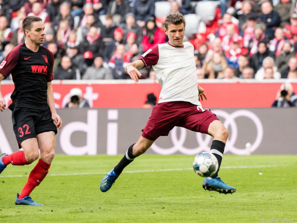 Müller erzielte das 1:0