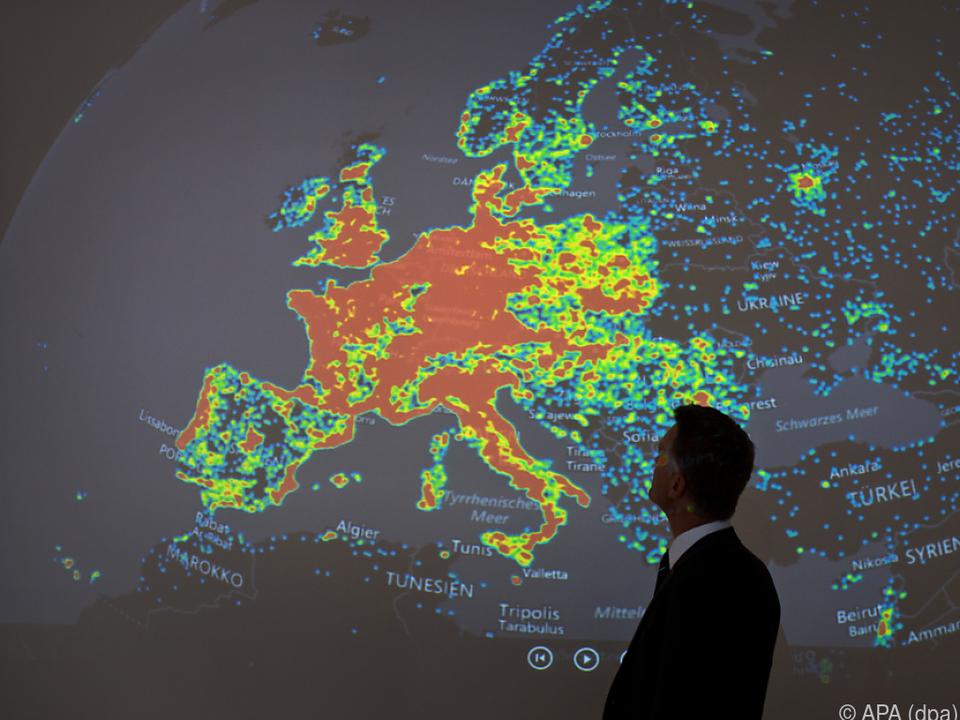 Necurs schlug auch in Europa zu