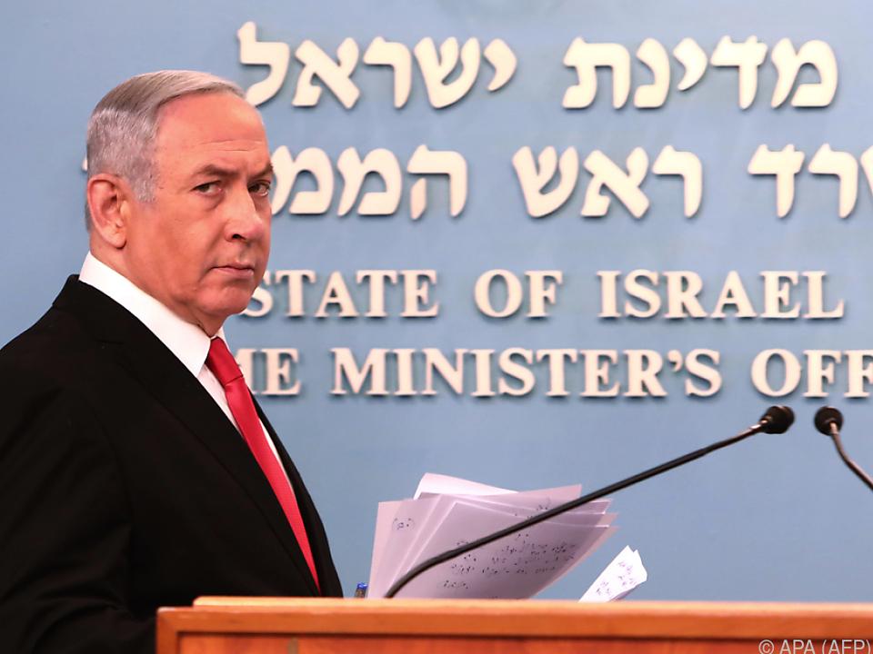 Netanyahu ist der vierte Regierungschef in Selbstisolation