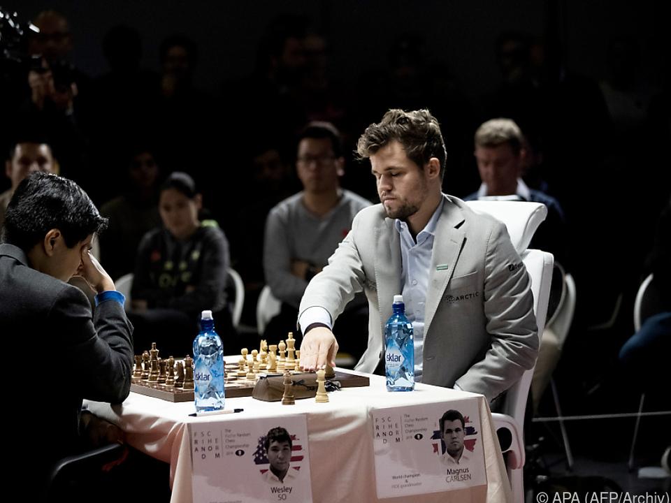 Noch kein Herausforderer für Schach-Weltmeister Carlsen in Sicht