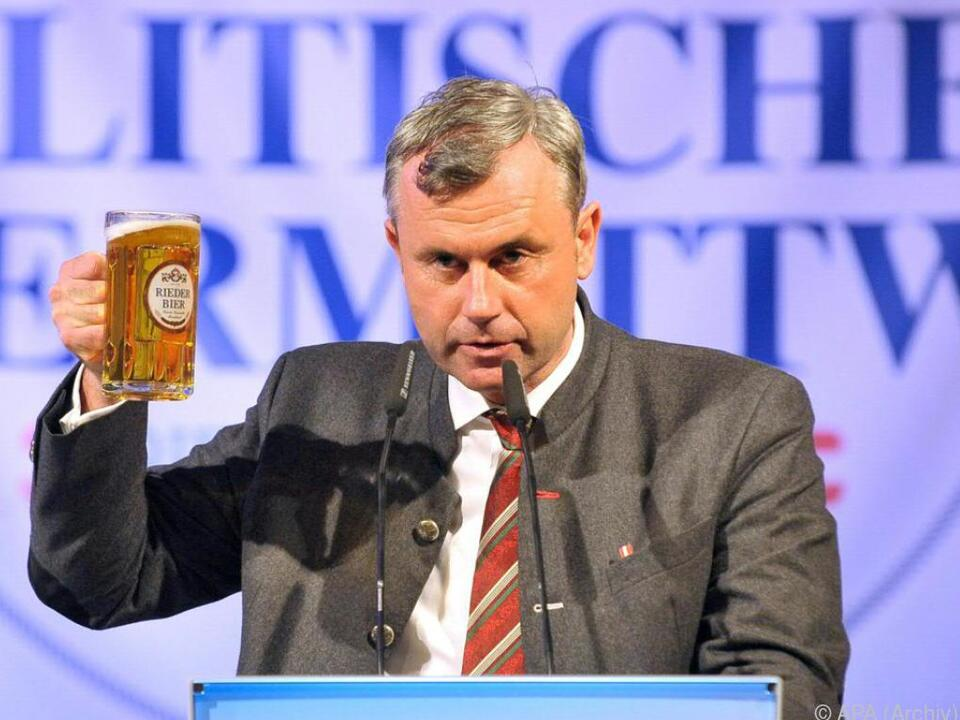 Norbert Hofer soll FPÖ-Burgenland führen