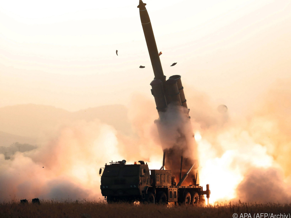Nordkorea testet wieder Raketen